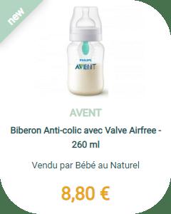 biberon anti-colique Avent