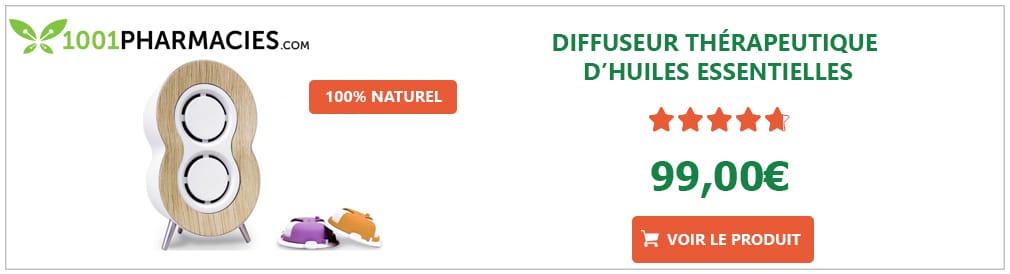 Diffuseur thérapeutique d'huiles essentielles