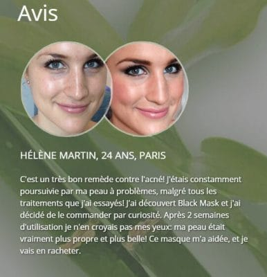 Avis Black Mask